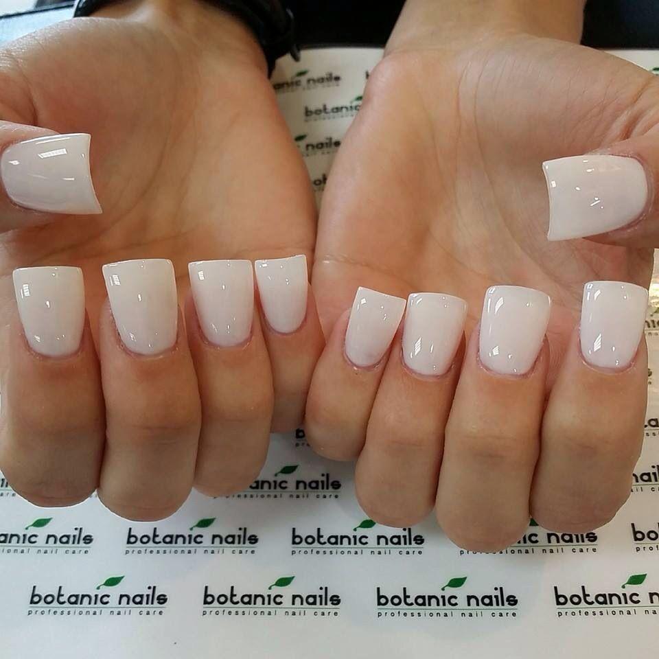 Clear off white nails   Nails 2   Pinterest   White nails