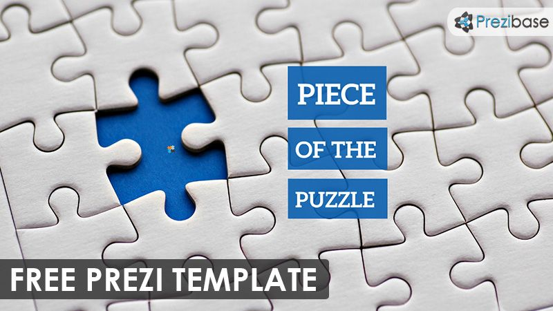 Beautiful Free Prezi Template In Black And White In It You Can