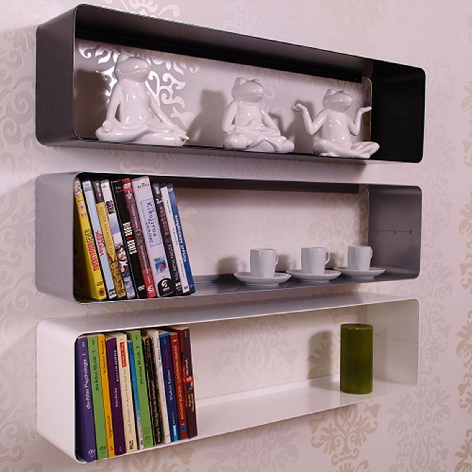 Pin On Wall Cube Shelves