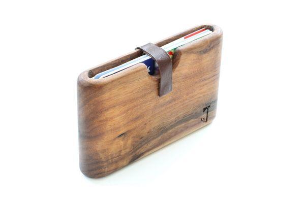 6dfa6a6d7 Billeteras de madera | Billeteras y monederos | Walnut wood, Wood y ...