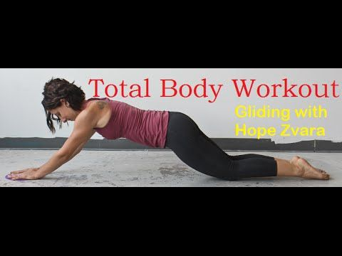 total body workout  gliding 101 with hope zvara  legs