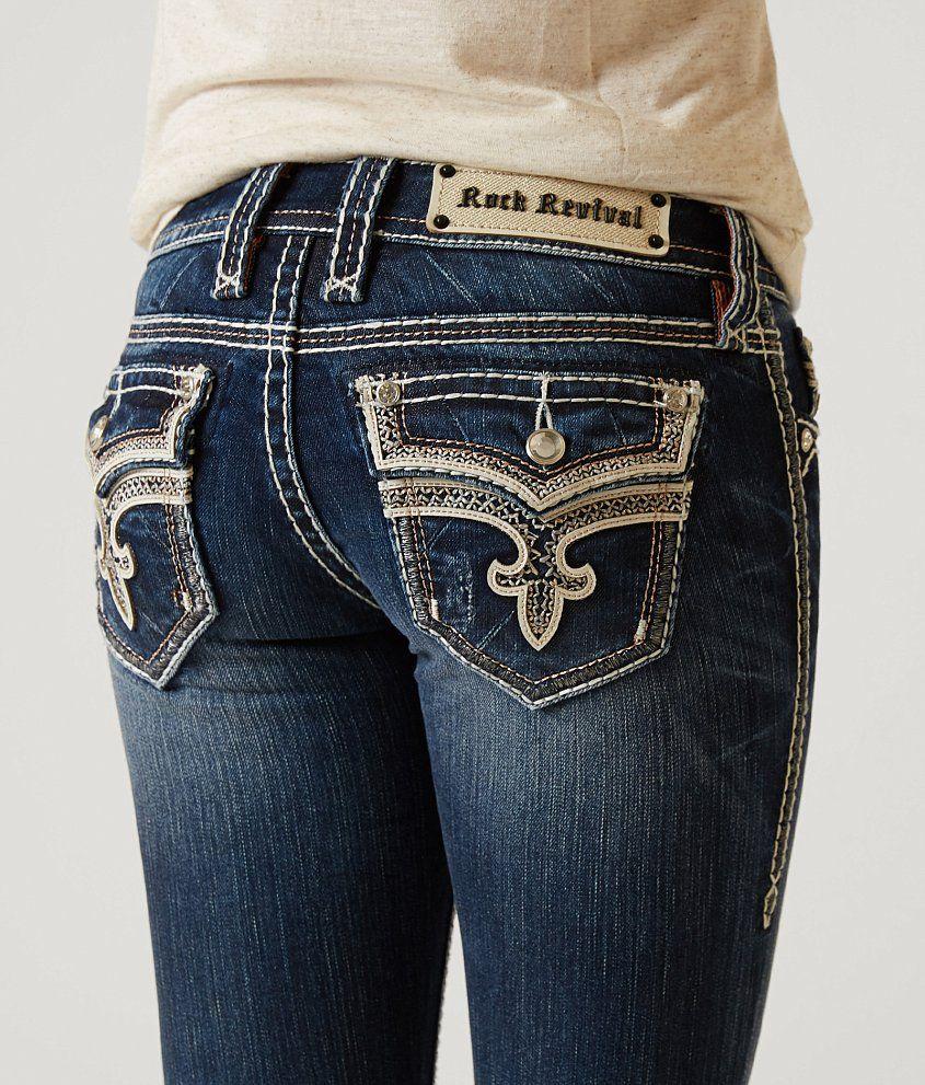 Rock Revival Ena Boot Stretch Jean - Women's Jeans in Ena B24 | Buckle