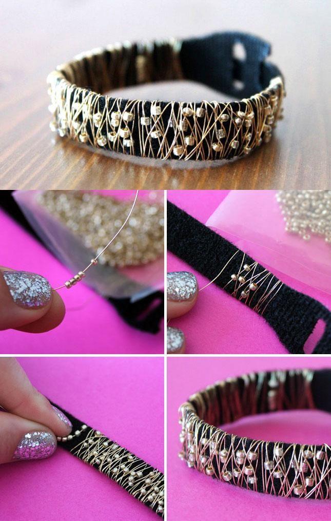 Style Hack: Chic Studded Stacking Bracelets