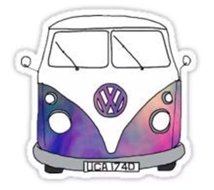 vw camper van hippie boho decal sticker mercari the selling app vans stickers hippie sticker hippie decals vw camper van hippie boho decal sticker