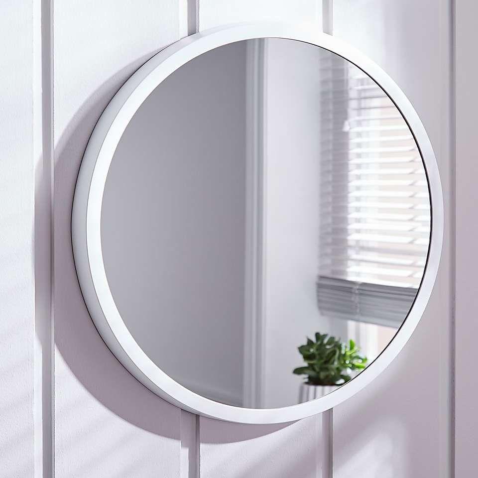 Elements White Round Wall Mirror Dunelm Round Wall Mirror Round White Mirror Mirror Wall