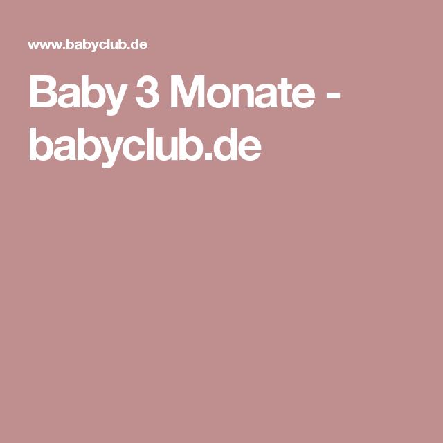 Baby 3 Monate - babyclub.de