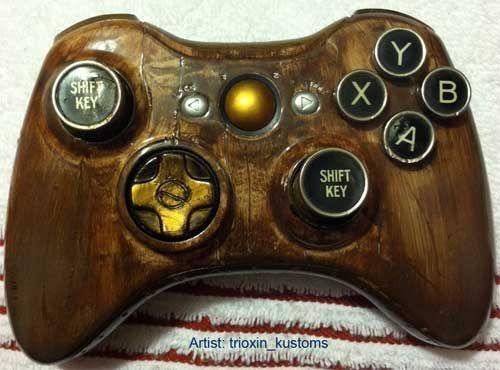 Custom Steampunk Xbox Controller Whoa Xbox Controller Xbox