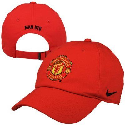 Nike Manchester United F C Core Adjustable Hat Red Adjustable Hat Hats The Unit