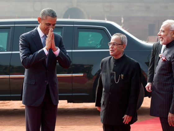 President obama offers traditional greeting in india potus president obama offers traditional greeting in india m4hsunfo