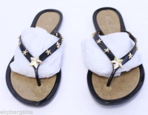 b54cdb2589b New-W-Box-Marc-Fisher-Women-Omaja-Jelly-Thong-Sandals-Black-Flip ...
