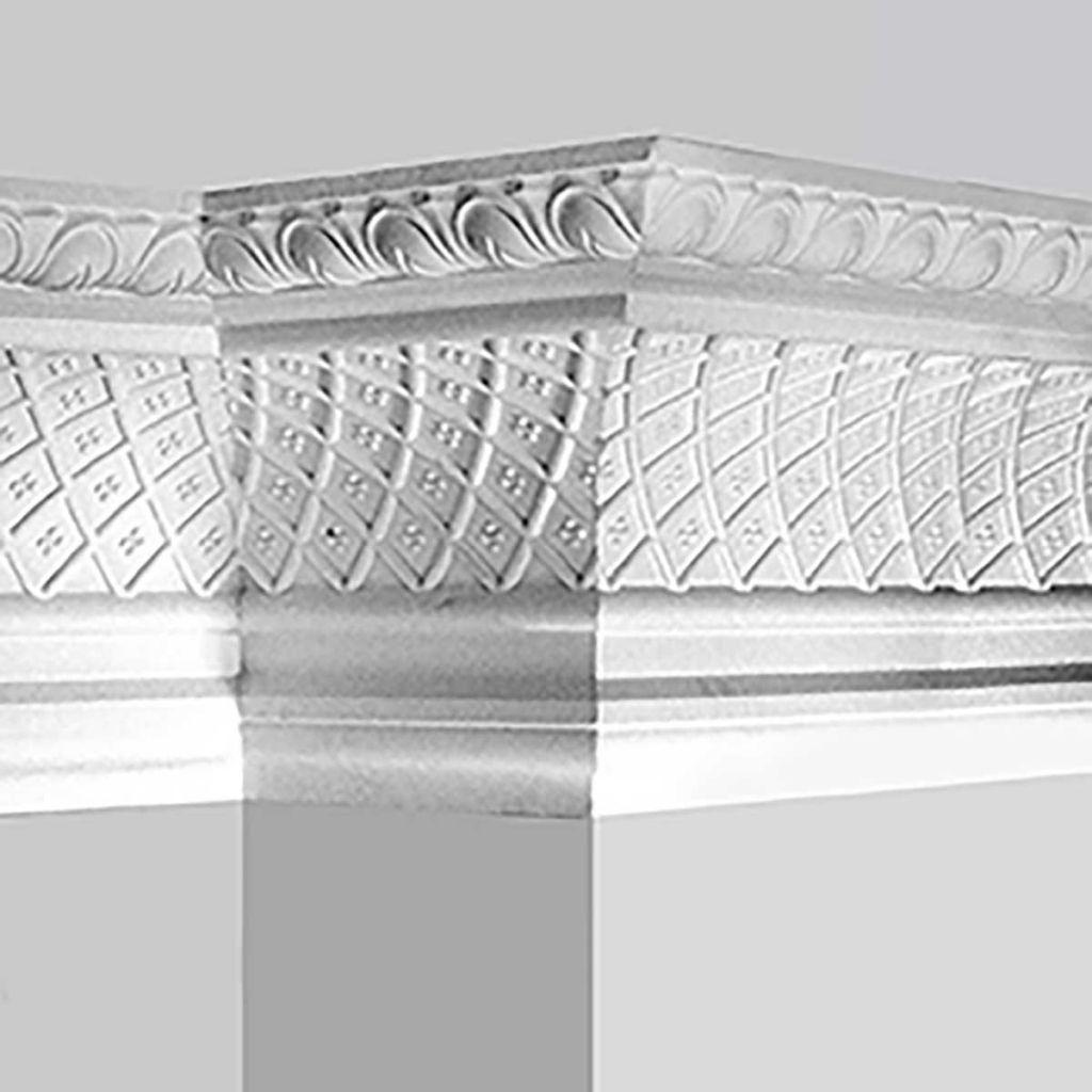 Polyurethane decorative large cove molding supplier | كورنيش in 2019