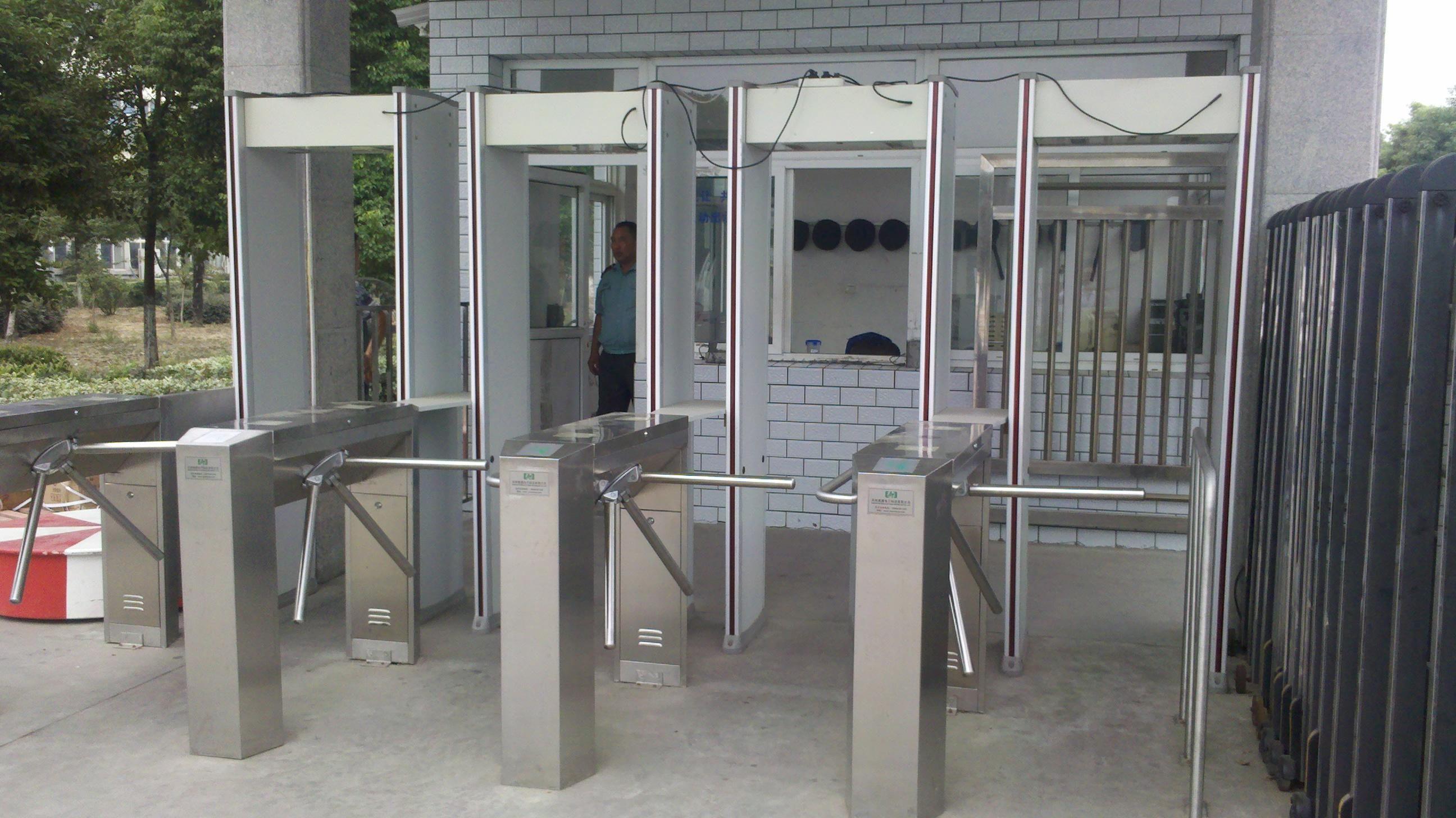 Arched Metal Detector Security Door For Government Building Walk Through Metal Detector Inspection Mirror Metal Detector