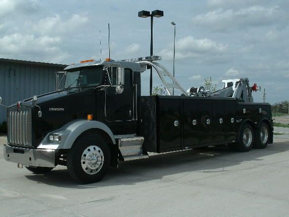 Kenworth T800 With NEW Century 5130