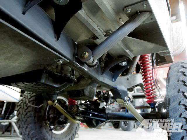 83 97 Ford Ranger Raised Crossmember Transmission Radius Arm Bagged Lowering Kit Ebay