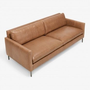 Superbe Cobble Hill Nolita Leather Sofa
