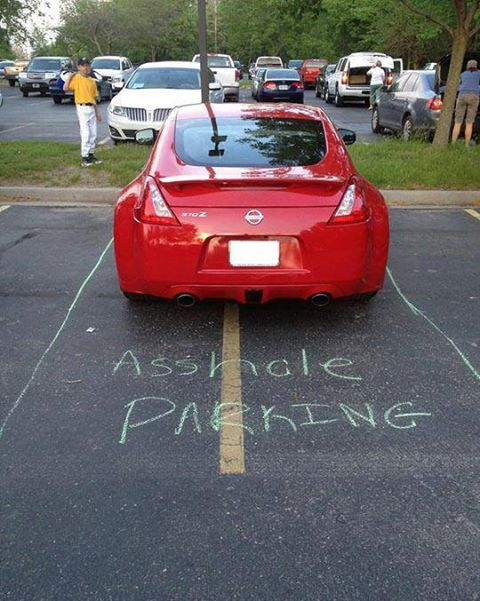 Gotta carry chalk from now on!