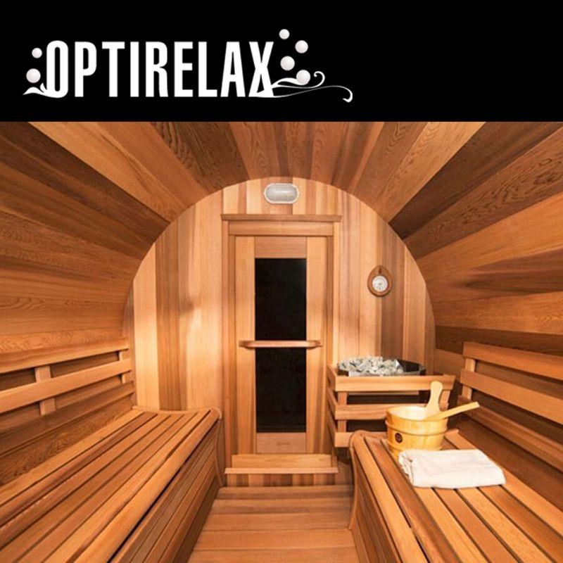 luxus fass sauna optiview ii leben unter freiem himmel gartenarchitektur und unter freiem himmel. Black Bedroom Furniture Sets. Home Design Ideas
