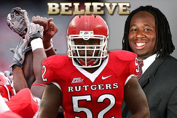 The Eric Legrand Story An Inspiration To All Rutgers Football Athlete Football