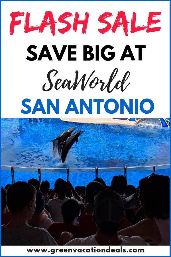 Seaworld San Antonio Flash Sale Green Vacation Deals Seaworld San Antonio Sea World Vacation Deals