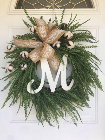 Photo of Farmhouse Wreath Greenery 56+ Beste Ideen