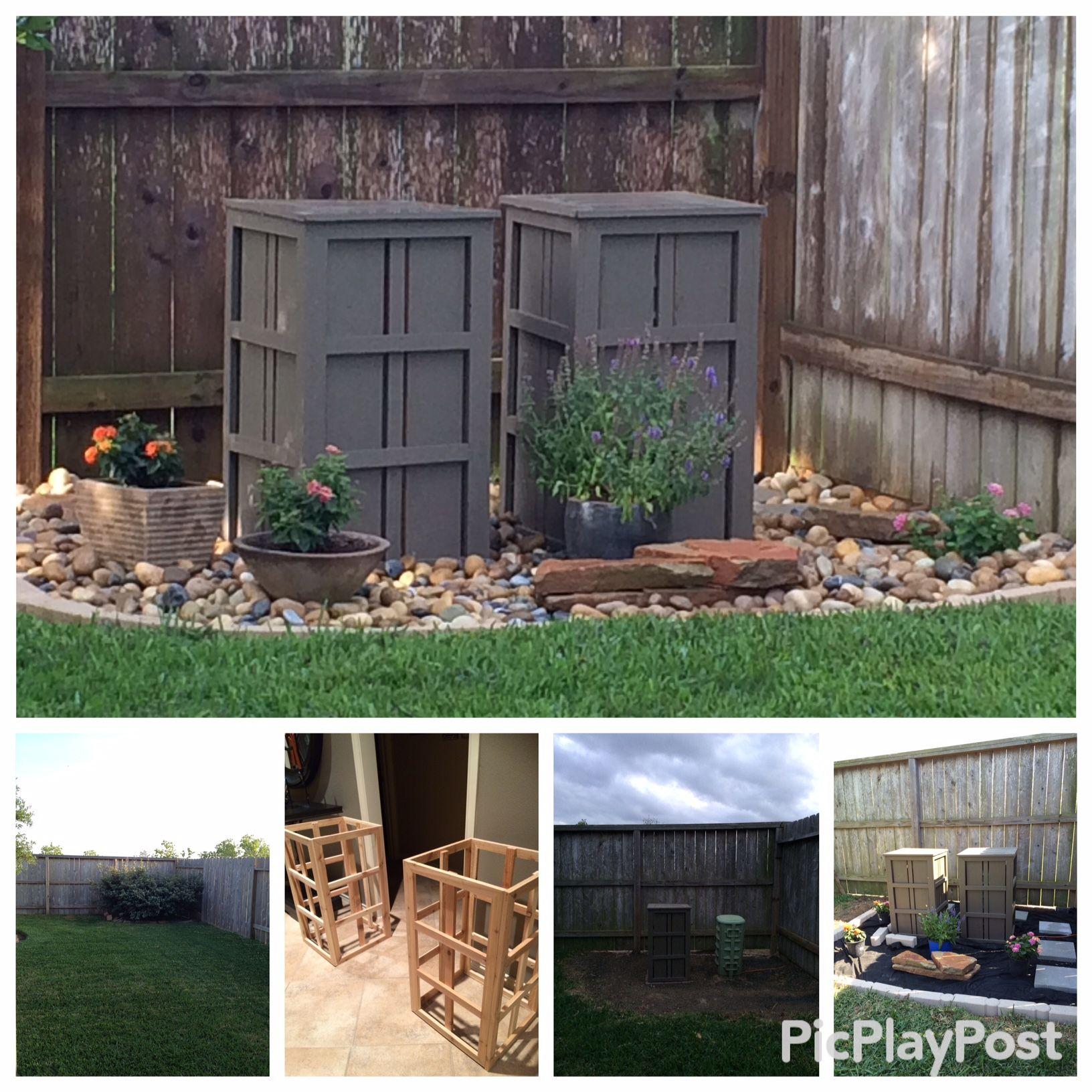DIY Outdoor Utility Box Covers