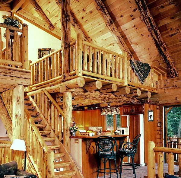 Log home interior designs house design ideas - Log homes interior designs ...