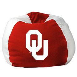 Oklahoma Sooners Ncaa Team Bean Bag 102 Round Quot Bean