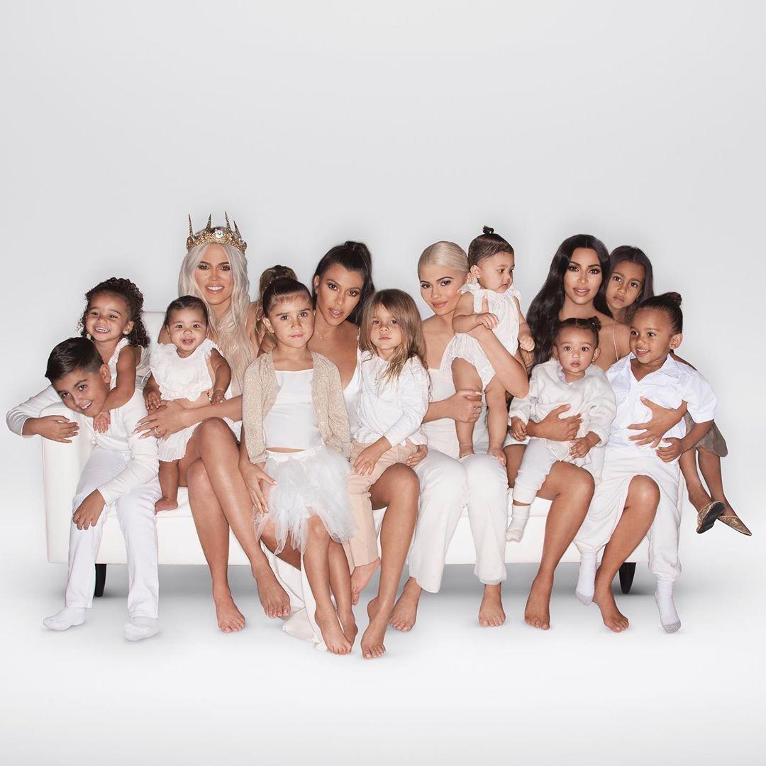 Christmas Card Kardashian Jenner Christmas Card Kardashian Kids Kardashian Christmas