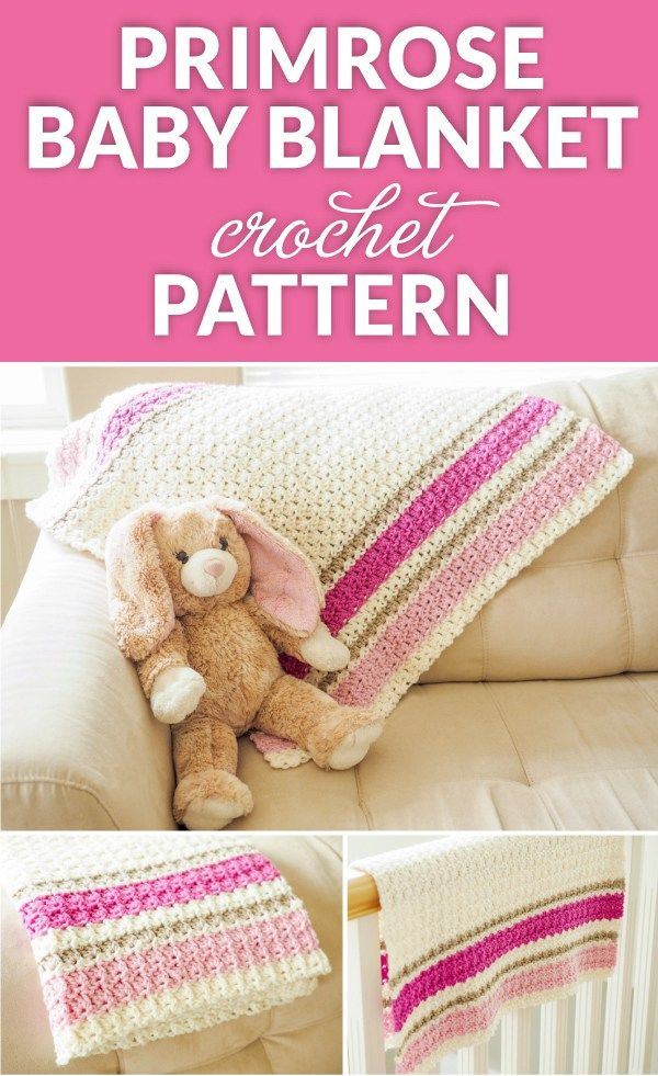 Primrose Baby Blanket Crochet Pattern Crochet 1 All About Crochet