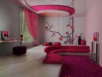 Rose fushia | fushia | Chambre de rêve, Agencement séjour et ...