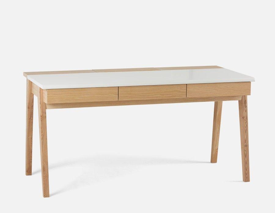 Ulrik Desk 150cm Natural Natural Desks Office Furniture