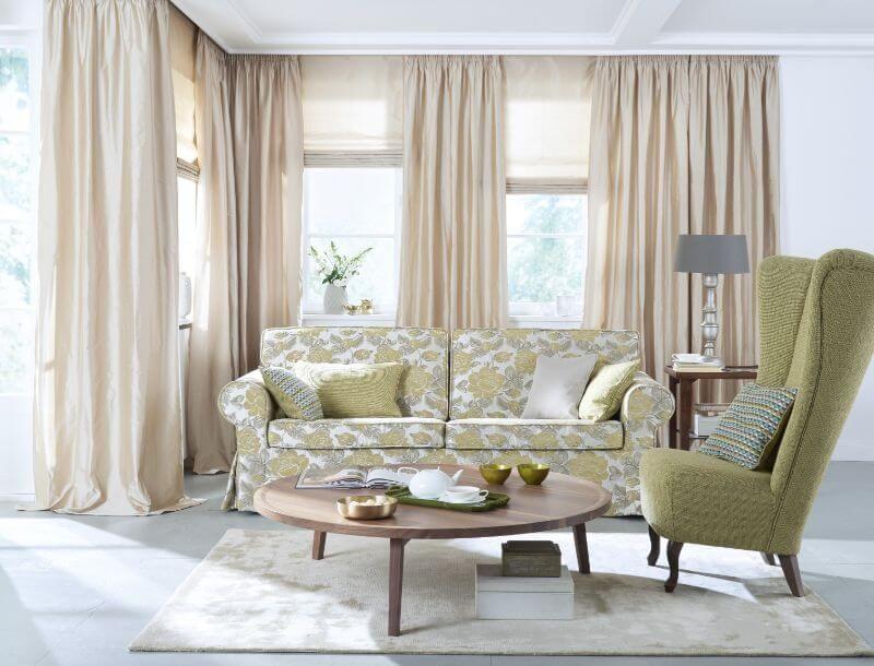 wohnzimmer gardine farbe creme ❤ Vielfältige Plissees