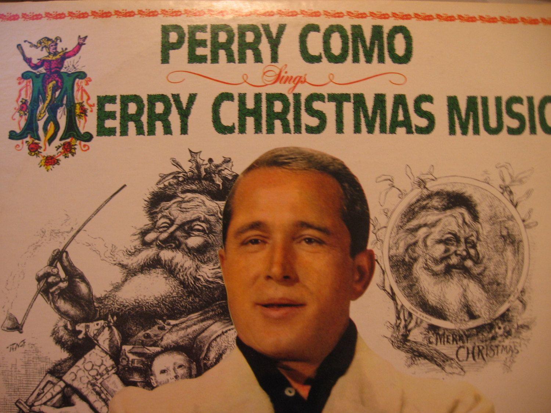 Perry Como Christmas.Vintage 60 S Perry Como Christmas Lp Merry Christmas Music