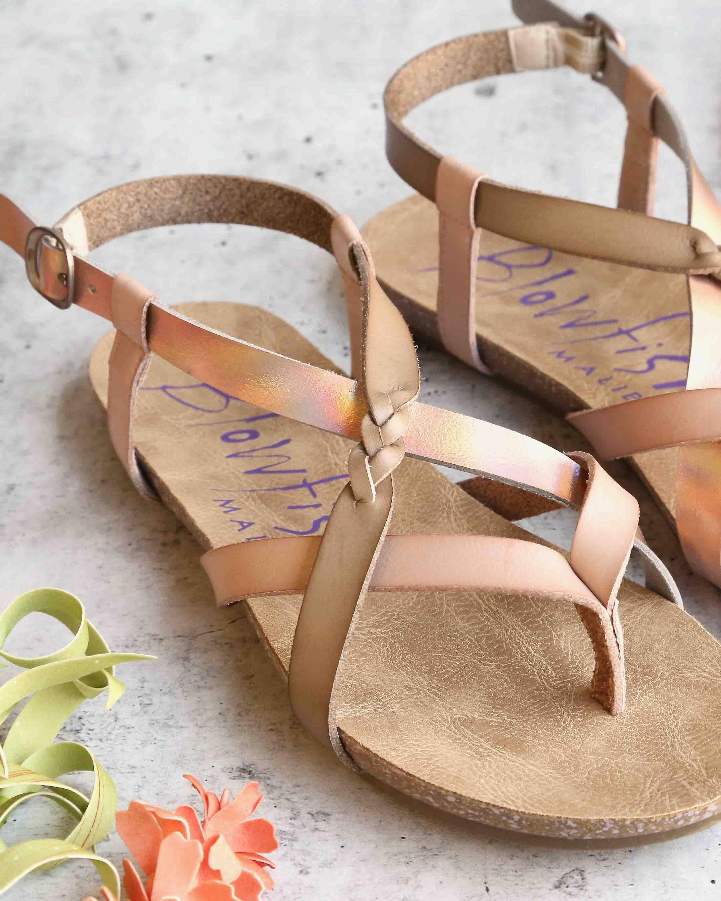 725bb4161e78 Blowfish - women s granola-b fisherman sandal - Blonde Pearl Rosegold  –  shophearts