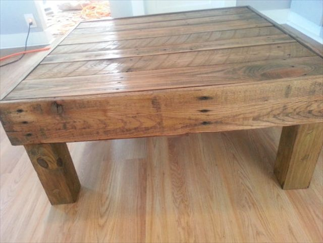 14 Different Ideas On Pallet Tables Pallet Coffee Table