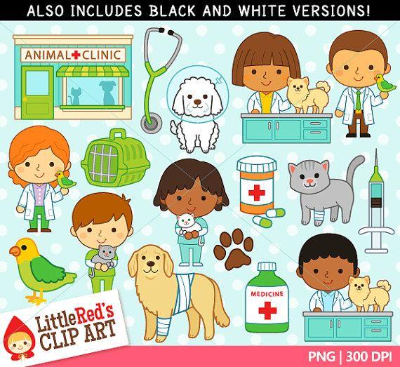 Examinar Imagenes Predisenadas De Veterinario Y Lineart Uso Profesiones Para Ninos Veterinaria Dibujo Perro De Dibujos Animados