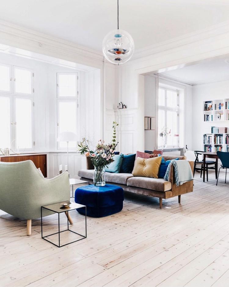 My Scandinavian Home 15 Fabulous Danish Spaces That Will Brighten Up Your Day Danish Living Room My Scandinavian Home Scandinavian Home