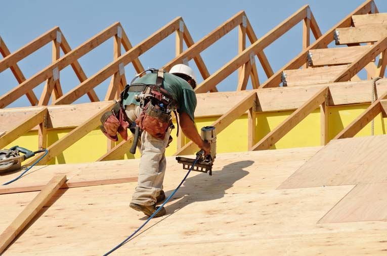 Roof Construction Basics Hometips Roof Construction Roof Repair Roof Trusses