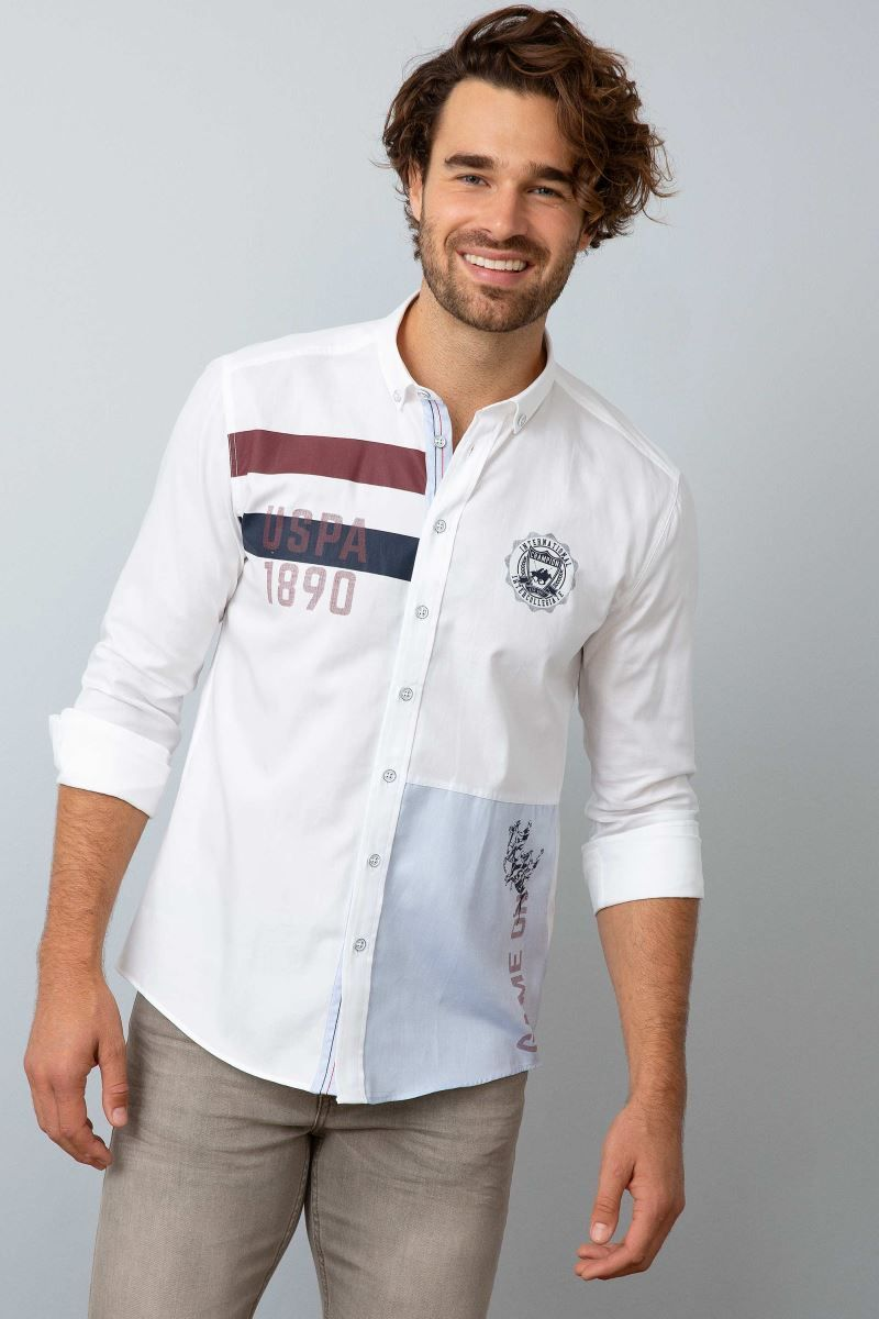 Men Woven Shirt - Men Shirts   U.S. Polo Assn. - #Assn #Men #Polo ...