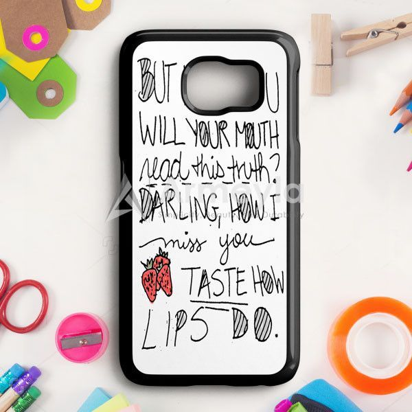 Ed Sheeran Lane Samsung Galaxy S6 Edge Plus Case | armeyla.com