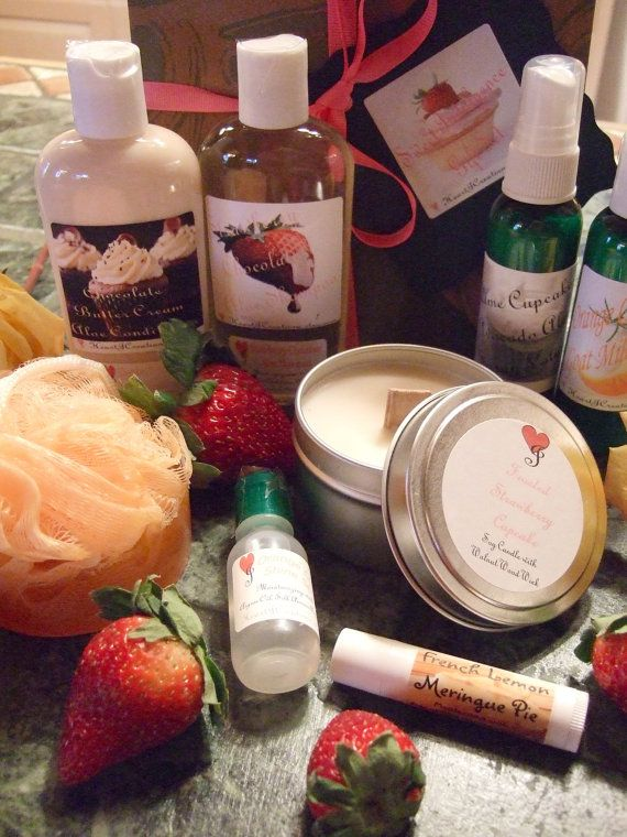 SWEET INDULGENCE  Gift Set by HeartJCreations on Etsy, $24.99
