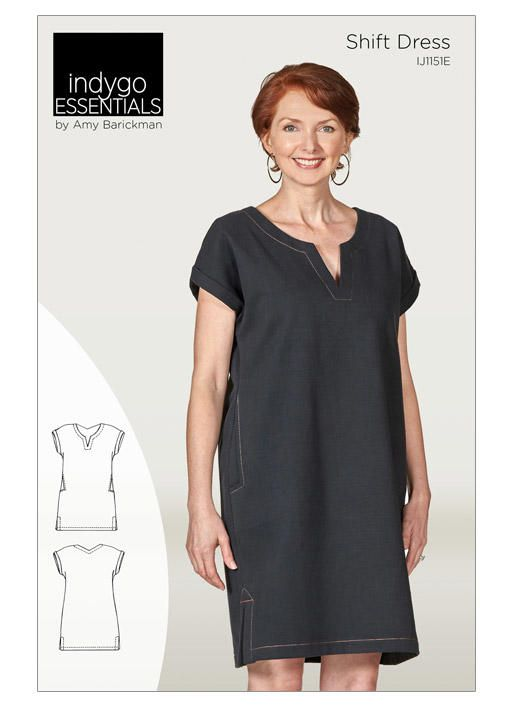 Shift Dress | Butterick Patterns | This Fashionista Sews ...