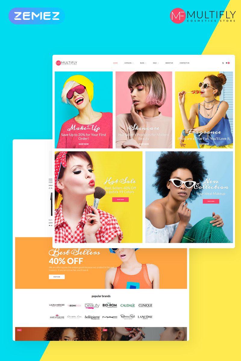 Exotonic Cosmetics Store Elementor Theme