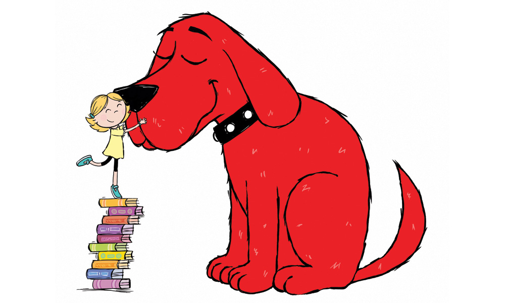 Scholastic S New Clifford The Big Red Dog Launches In December Animation Magazine Red Dog Cartoon Dog Dog Illustration