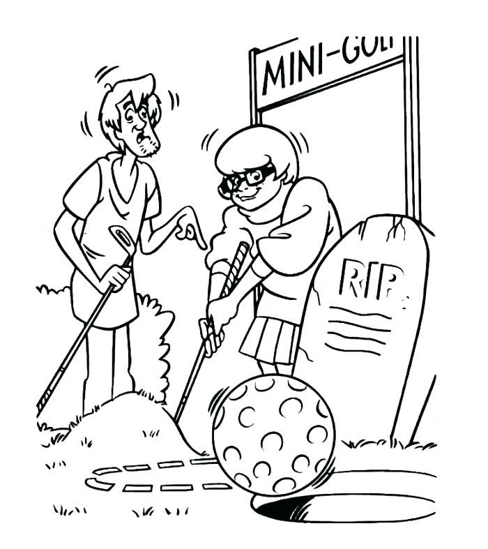 Golf Coloring Pages Best Coloring Pages For Kids Sports Coloring Pages Coloring Pages Moon Coloring Pages