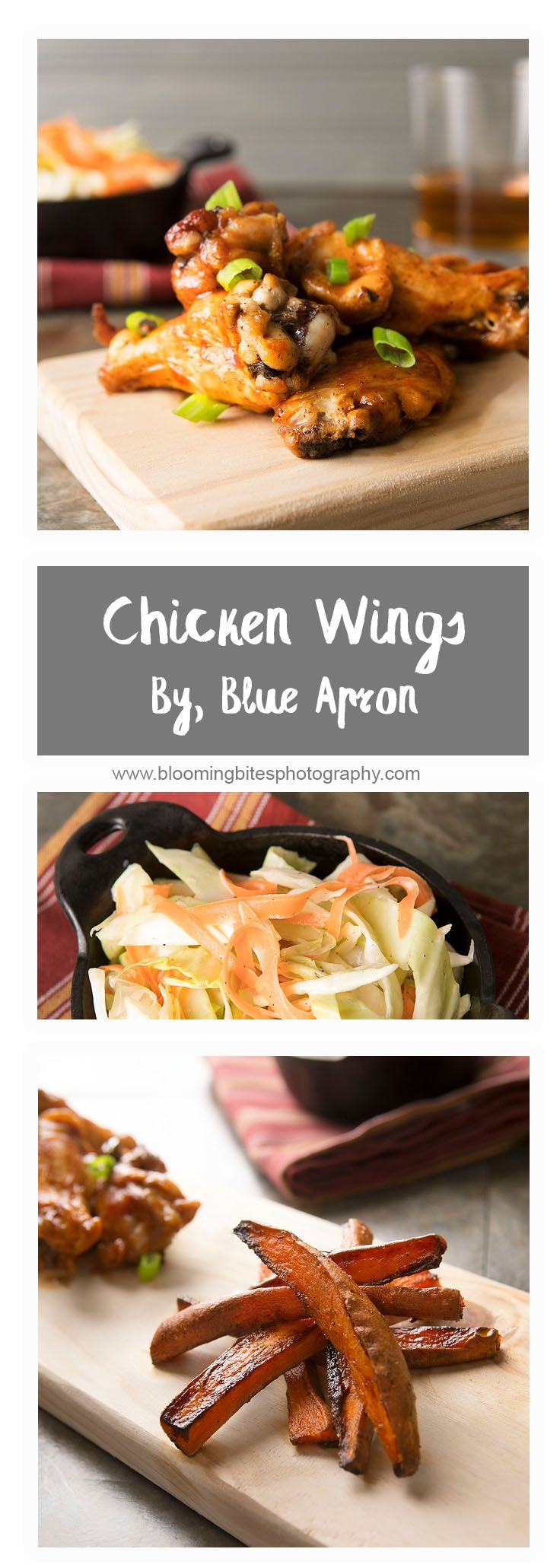 """BBQ Glazed Chicken Wings By Blue Apron Recipe """"Count"""