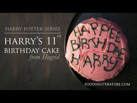 Terrific Harry Potter Birthday Cake From Hagrid The Cake Boutique Funny Birthday Cards Online Alyptdamsfinfo