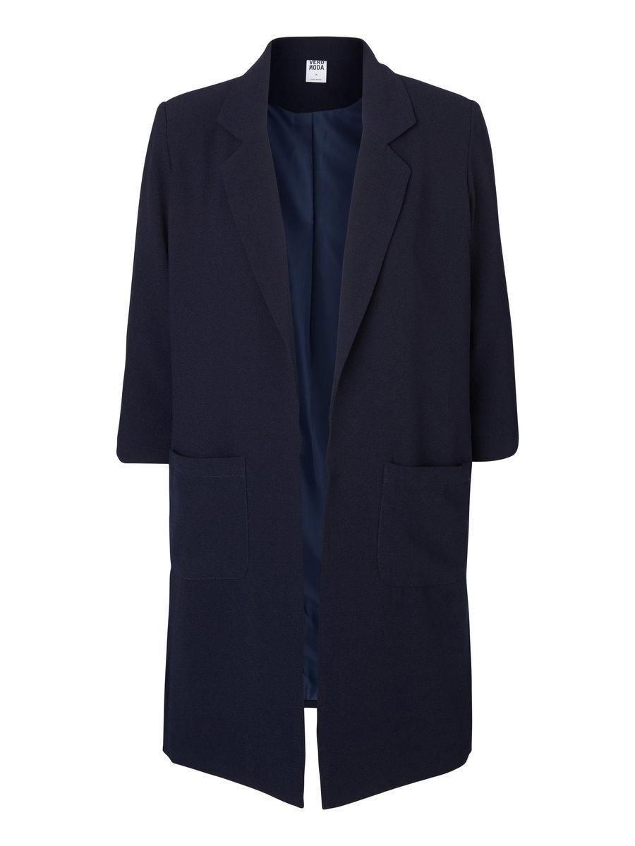 Long blazer jacket from VERO MODA. We love this blue hue.