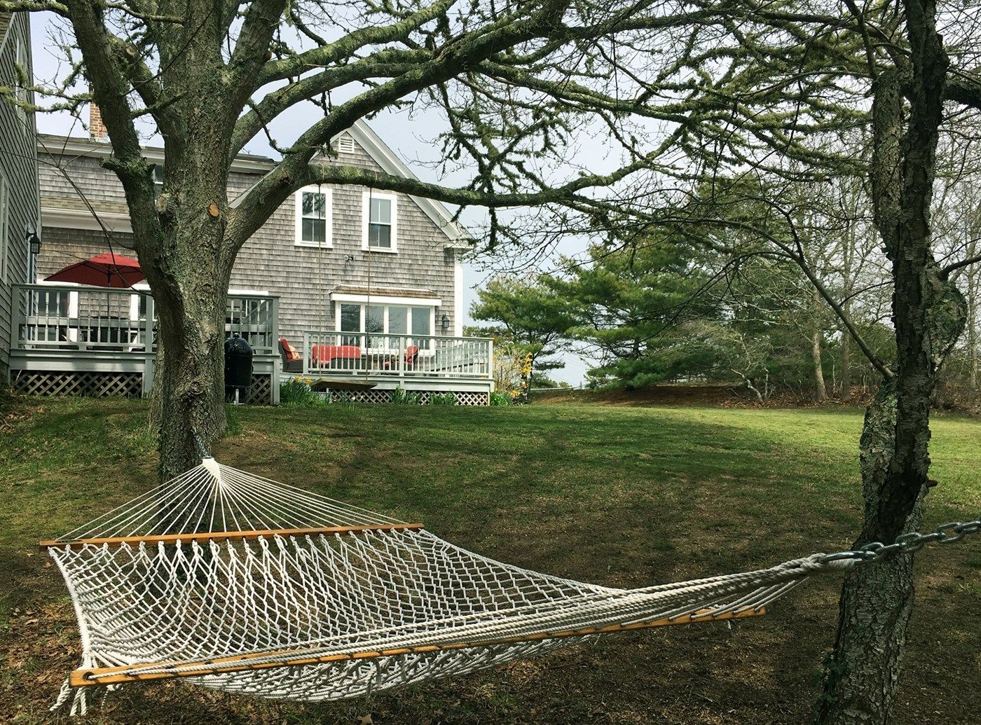 relax in a backyard hammock under shade trees chatham cape cod vacation rental on weneedavacation relax in a backyard hammock under shade trees chatham cape cod      rh   pinterest