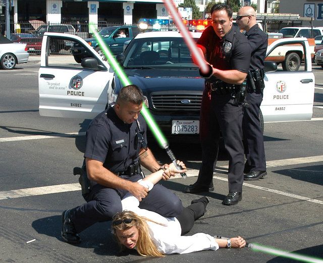 Who Doesn T Love Starwars Looks Like The Lynn Dale Events Had A Fun Time With Their Star Wars Day Losa Los Angeles Police Department Awkward Pictures Lapd
